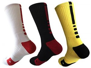 Hxst Dri-fit Cushion Youth Basketball Crew Socks