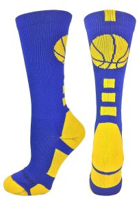 MadSportsStuff Basketball Logo Athletic Crew Socks Review
