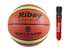 Ribay Size 7 Basketball and Pump Review