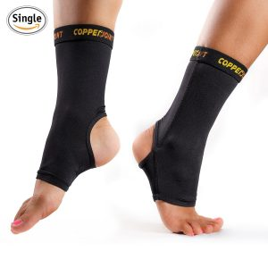 CopperJoint Compression Ankle Sleeve Plantar Fasciitis Sock Review