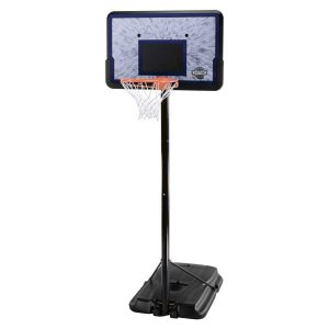 Lifetime 1221 Pro Court Height Adjustable Portable Basketball System, 44 Inch Backboard Review