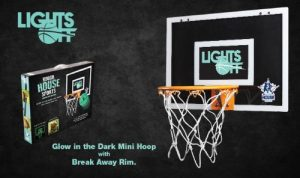 Rough House Lights Off Glow in the Dark Mini Basketball Hoop Review