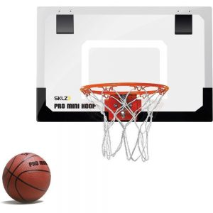 SKLZ Pro Mini Basketball Hoop with Ball 18 x 12 Shatterproof Backboard Review