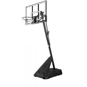 Spalding NBA Hercules Pro Glide Advanced Lift Portable Basketball System 52 Acrylic Backboard Review