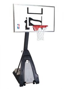 Spalding NBA The Beast Portable Basketball System 60 Glass Backboard Review