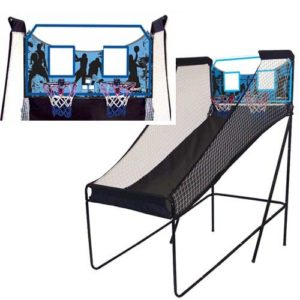 Spalding Dual Shot Electronic Basketball Game Review