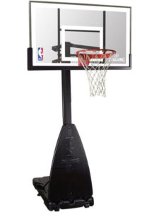 "Spalding NBA Portable Basketball System - 54"" Glass Backboard Review"