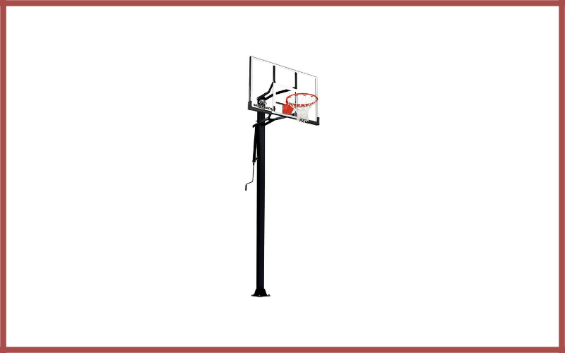 """Silverback 60"""" In-Ground Basketball System with Tempered Glass Backboard Review"""