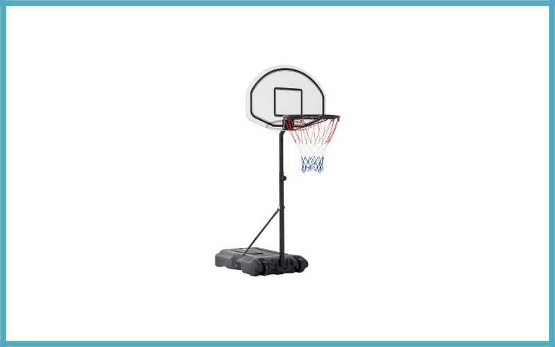 Aosom Height Adjustable Portable Poolside Basketball Hoop Review