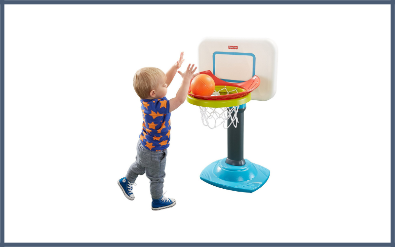 Fisher Price Grow To Pro Junior Basketball Hoop Review