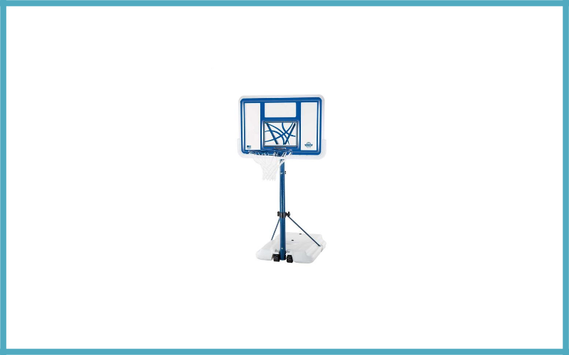Lifetime 1306 Pool Side Height Adjustable Portable Basketball System, 44 Inch Backboard Review