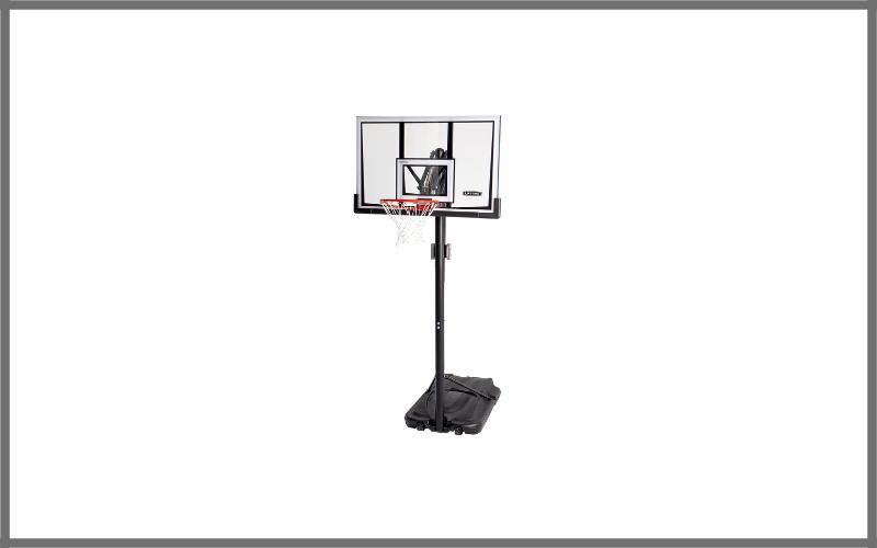 Lifetime 90061 Portable Basketball System, 52 Inch Shatterproof Backboard Review