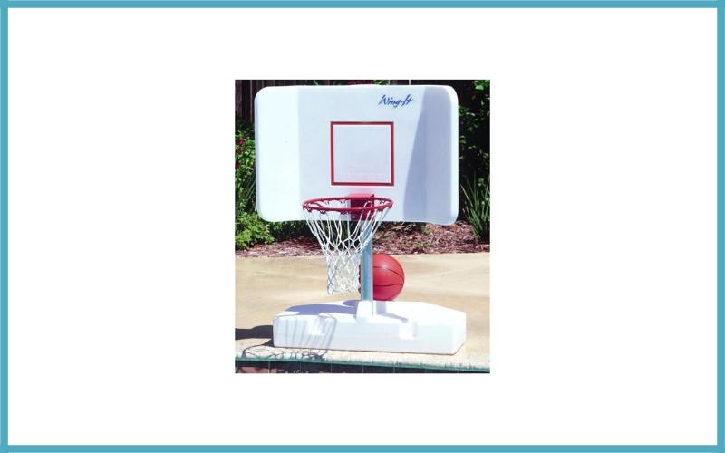 Pool Basketball Hoop by Pool Shot – Wing-It Review