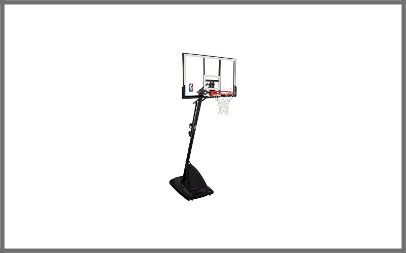 Spalding 66291 Pro Slam Portable Basketball System With 54 Inch Acrylic Backboard Review