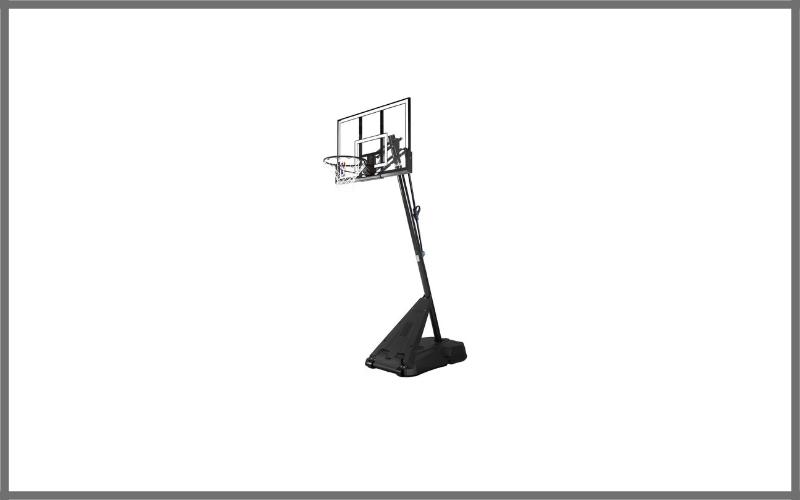 Spalding NBA Hercules Pro Glide Advanced Lift Portable Basketball System – 52″ Acrylic Backboard Review