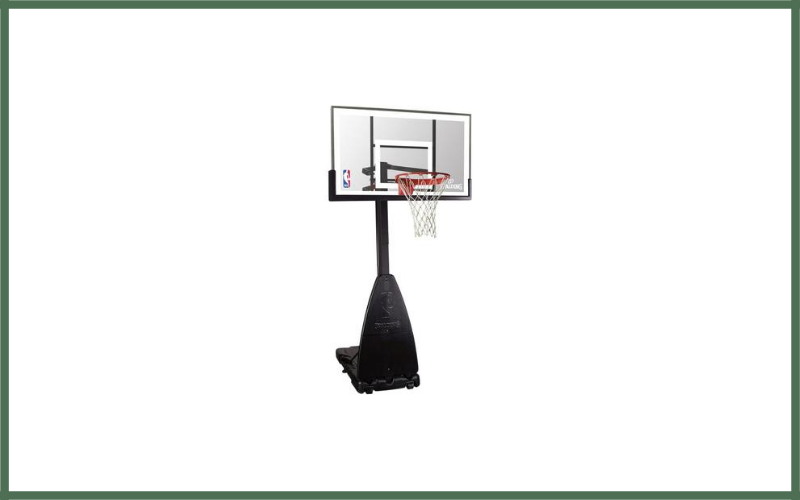 "Spalding NBA Portable Basketball System – 54"" Glass Backboard Review"