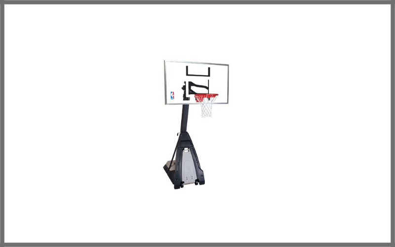"""Spalding NBA """"The Beast"""" Portable Basketball System – 60″ Glass Backboard Review"""