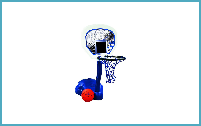 SwimWays Poolside Basketball Review