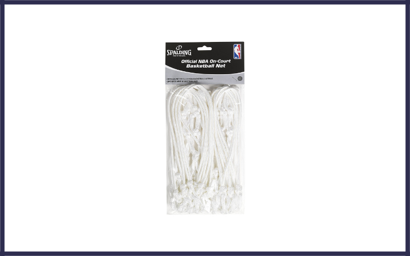 Official NBA On Court Basketball Net By Spalding Review