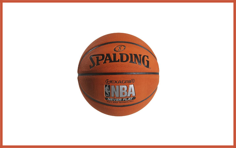 Spalding NBA HexaGrip Soft Grip NeverFlat Basketball Review