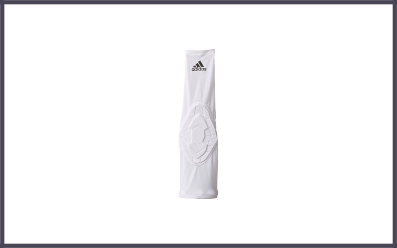 Adidas Men's Basketball Techfit Padded Elbow Sleeve