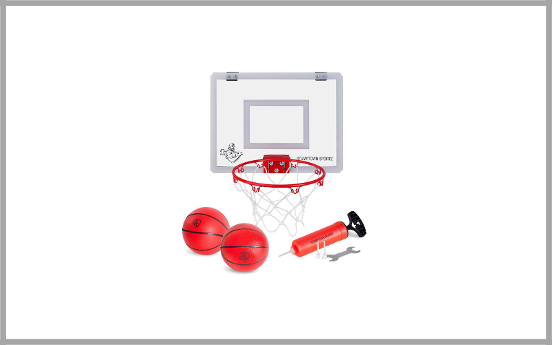 Mini Basketball Hoop with Breakaway Rim by Stumptown Sportz