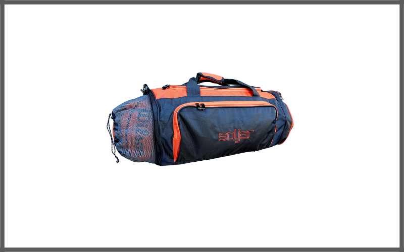 Soljer Basketball Sports Gym Bag with Wet Compartment