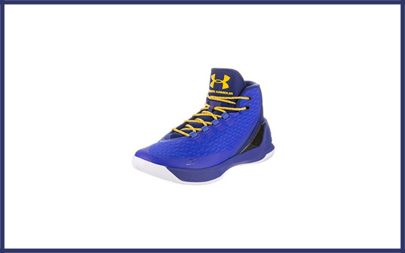 Under Armour Mens Curry 3 Basketball Shoe